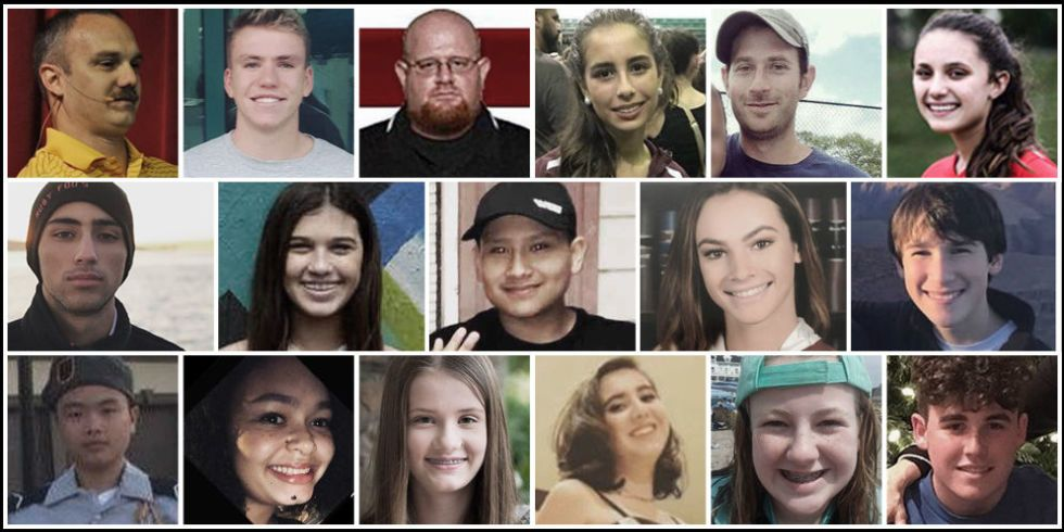 These Are The Victims Of The School Shooting In Florida