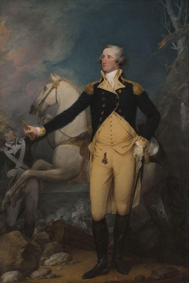 U.S. President George Washington Portrait