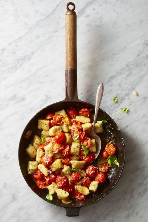 tomato-basil gnocchi