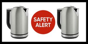 Whirlpool has announced that they are recalled about 40,200 KitchenAid electric kettles due to a burn hazard.