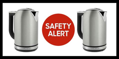 Whirlpool Recalls KitchenAid Electric Kettles Due to Burn Risk