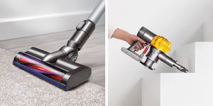 dyson cordless stick vacuum with v6 motor is on sale at Walmart for under $150.