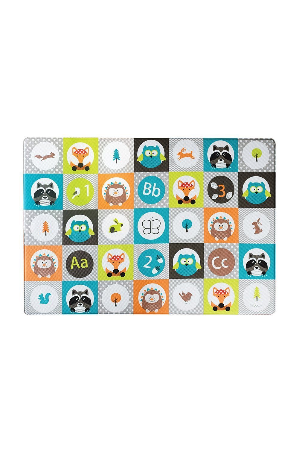 bbluv multi reversible baby play mat