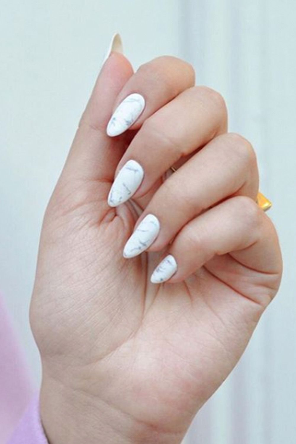 15 almond shaped nail designs cute ideas for almond nails solutioingenieria Images