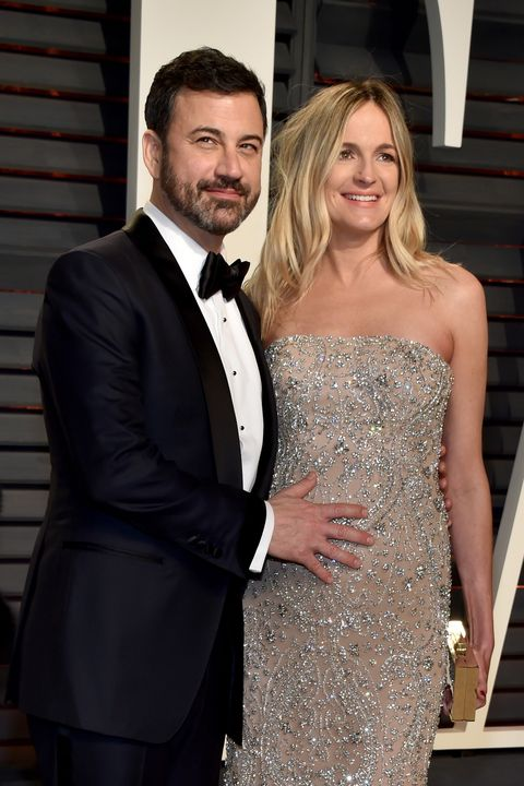jimmy kimmel vanity fair oscars party