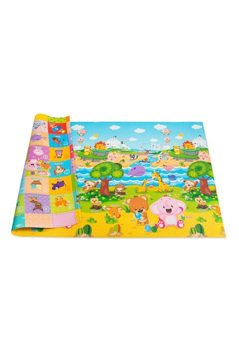 baby care pingko and friends reversible play mat large