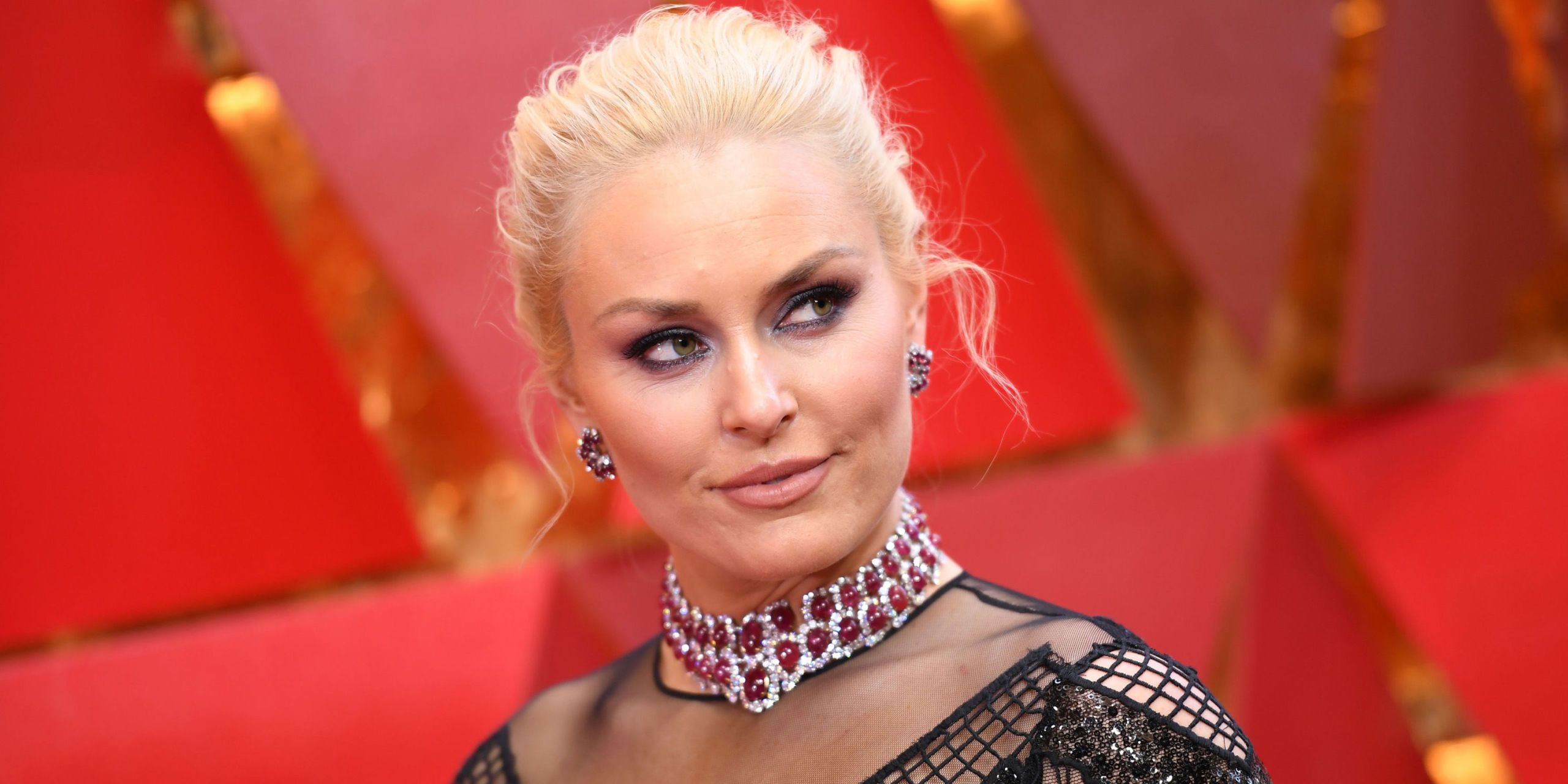 Lindsey Vonn Looked Totally Unrecognizable at the Oscars