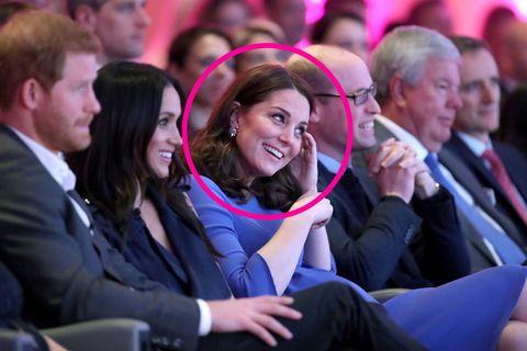 Body Language Experts Analyze Meghan Markle and Kate Middleton's