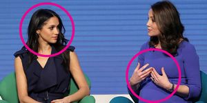 kate middleton meghan markle body language