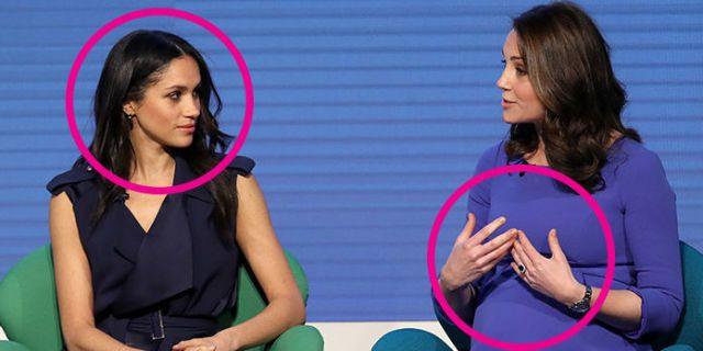Body Language Experts Analyze Meghan Markle and Kate ...