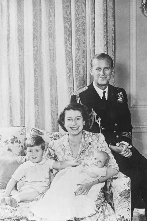 queen elizabeth, prince philip, and prince charles