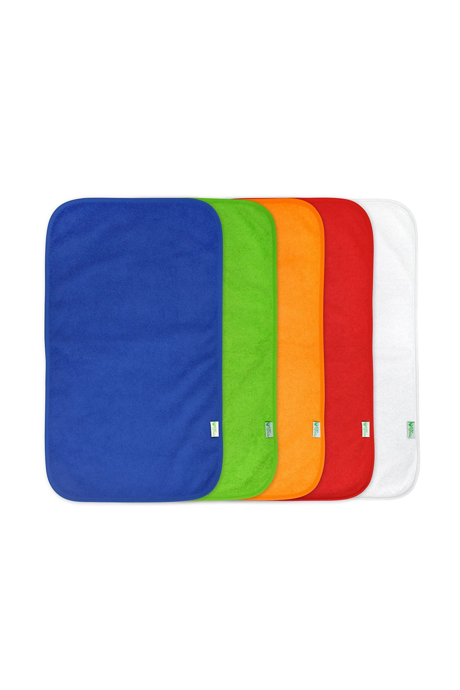 green sprouts stay-dry burp pads