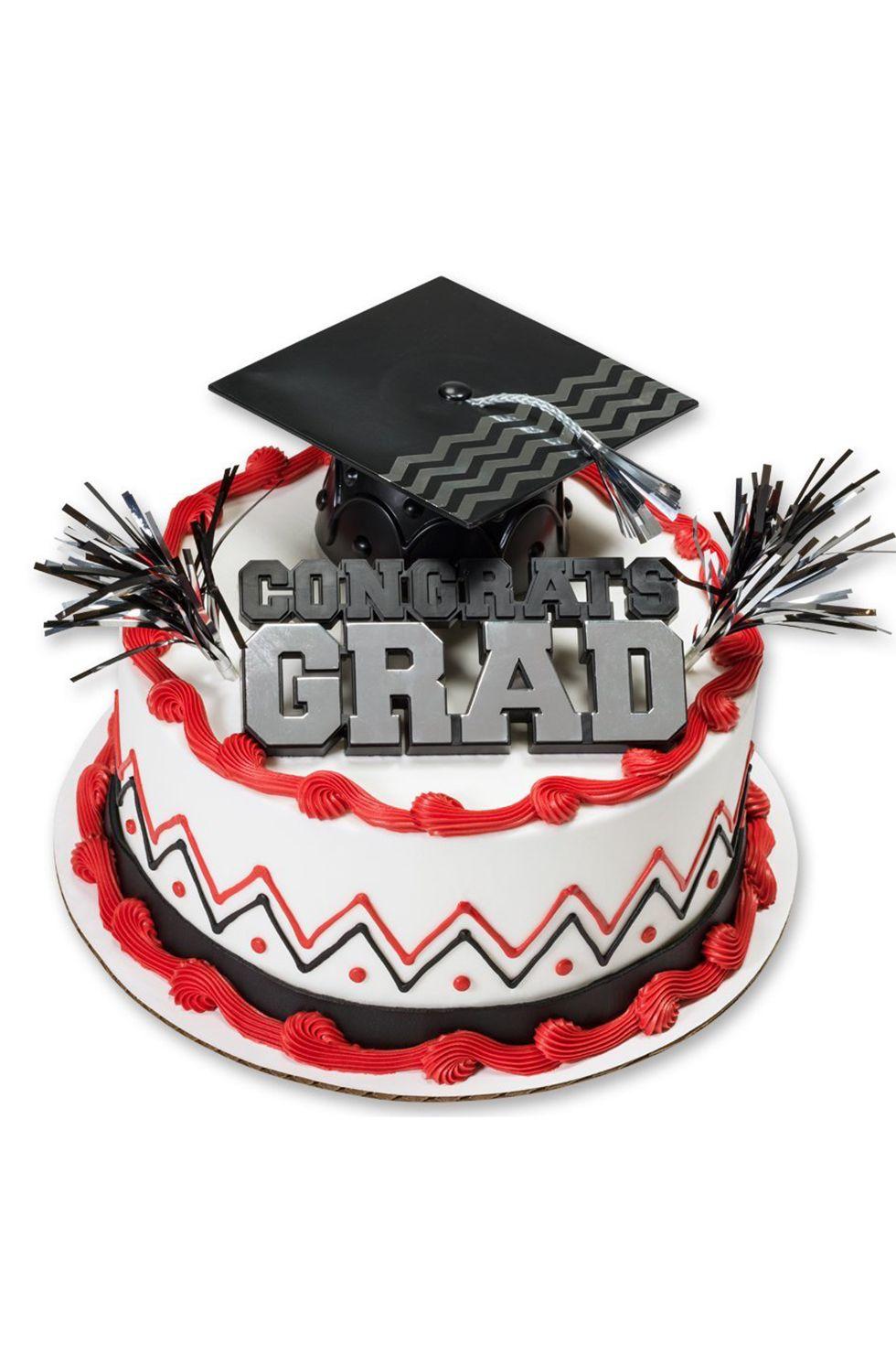 Easy graduation cake ideas decorations for high school