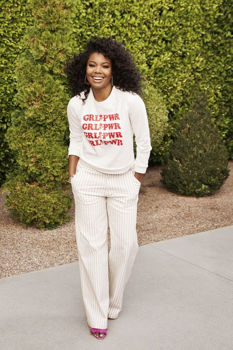 0ab11a9576 Gabrielle Union Models Her Favorite Spring Looks - Gabrielle Union s ...