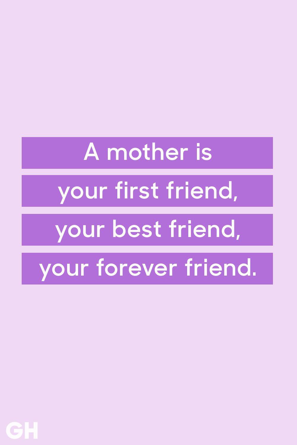 mother friendship quote