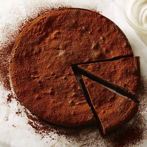 father's day cakes   flourless fudge cake