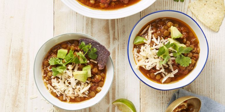 12 best instant pot recipes easy instant pot dinner ideas chipotle lentil chili mike garten cooking dinner in an instant forumfinder Choice Image