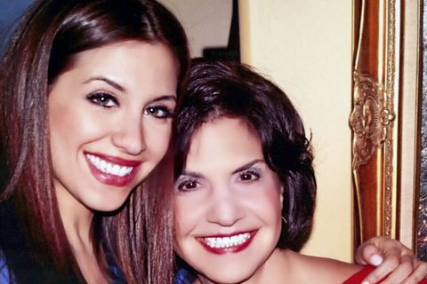 diana falzone and her mom, lucy