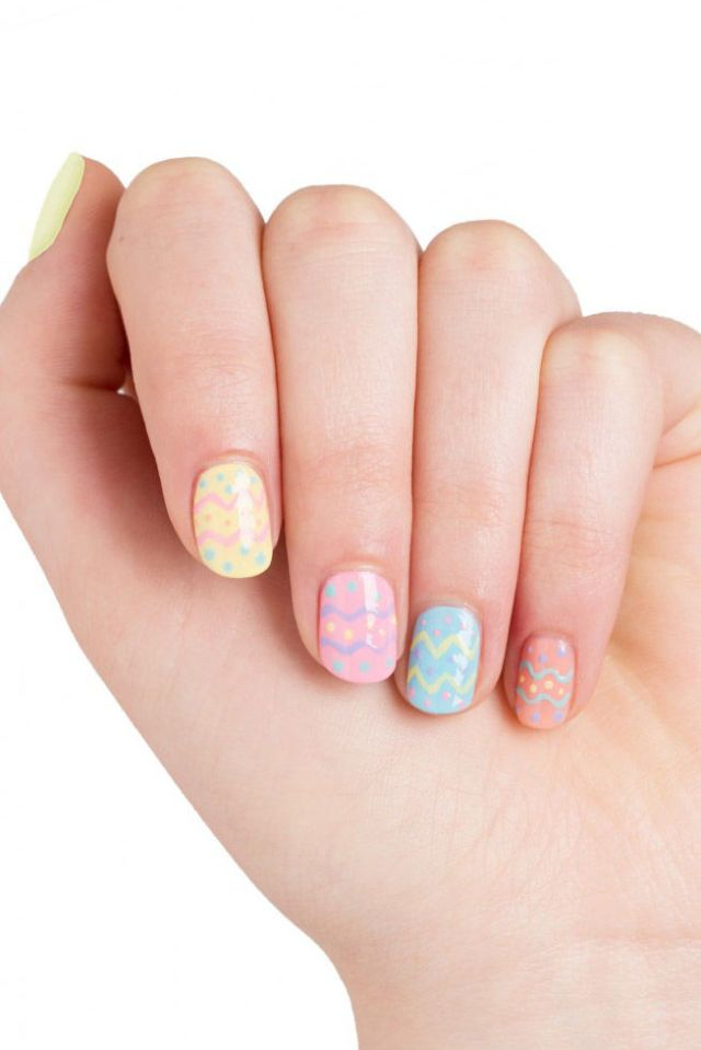 easter nail art 25 easter nail ideas you to try this 31677