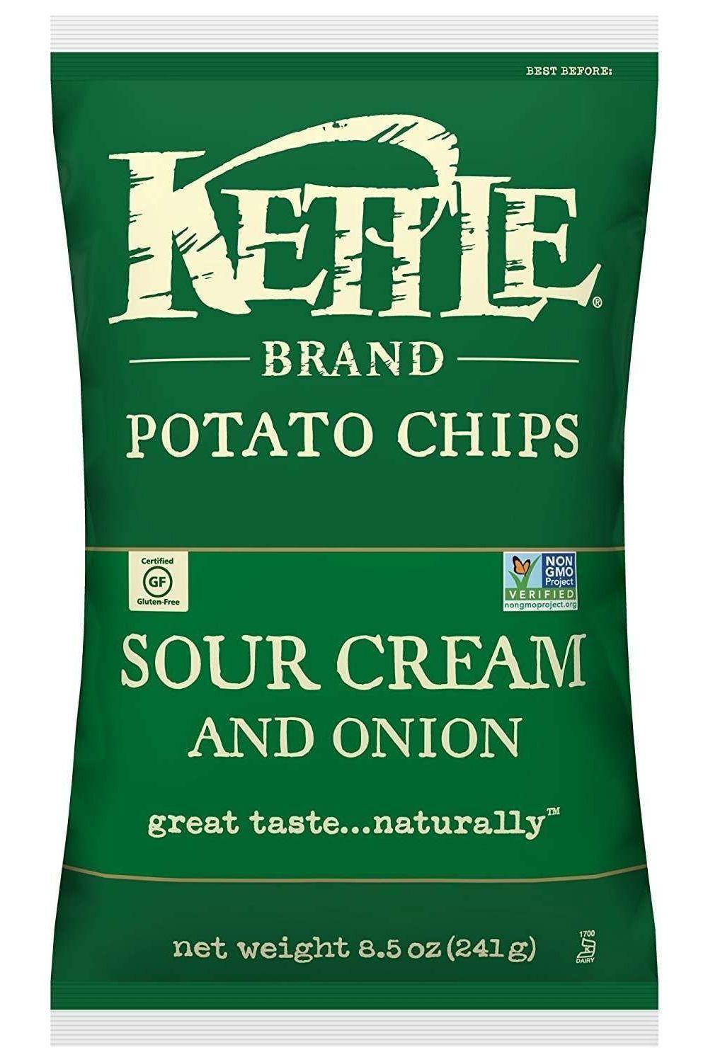 kettle brand sour cream and onion potato chips