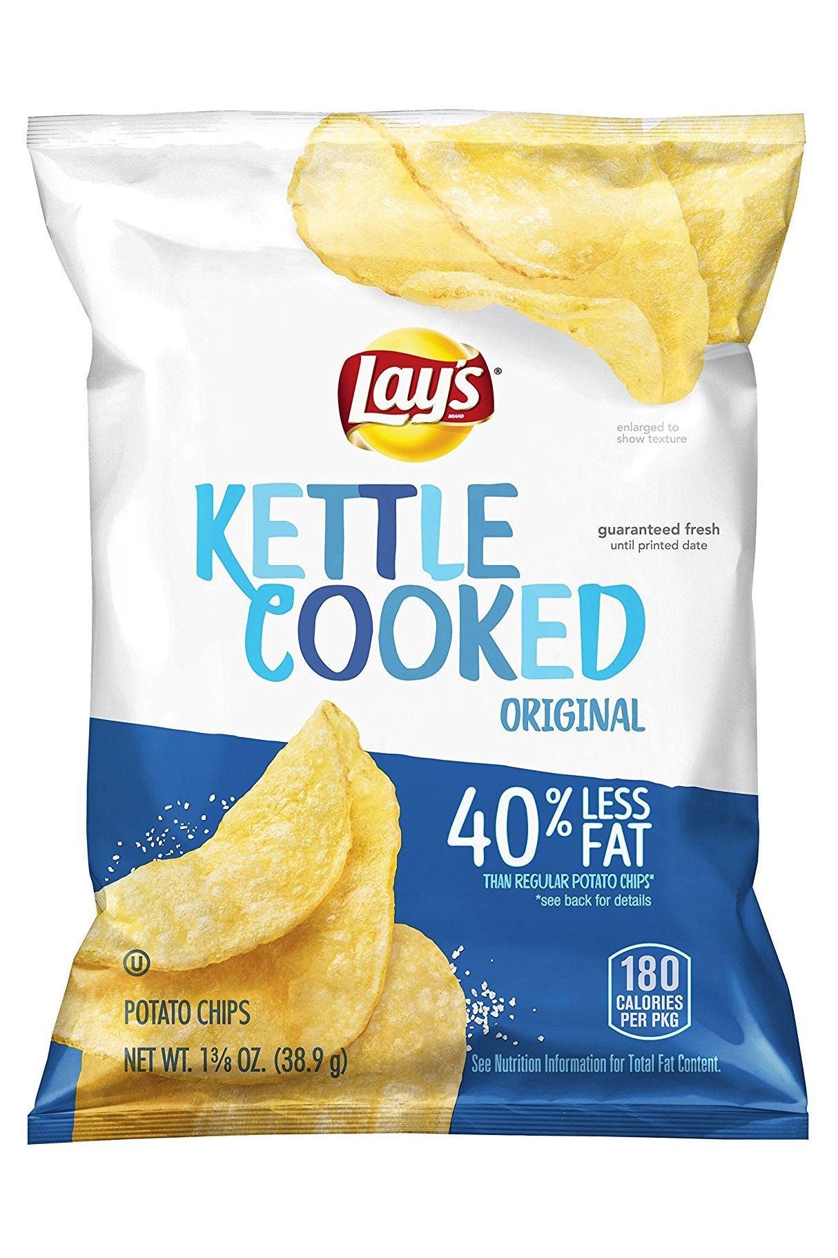 Salty Snacks Healthier Than Potato Chips