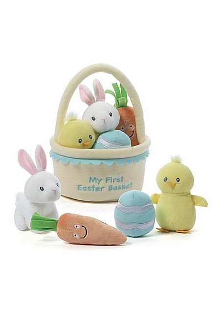 20 cute easter gifts for babies babys first easter basket fillers negle Images