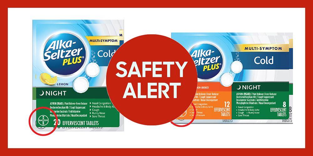 Bayer Recalls Alka-Seltzer Plus Cold Medicine Products