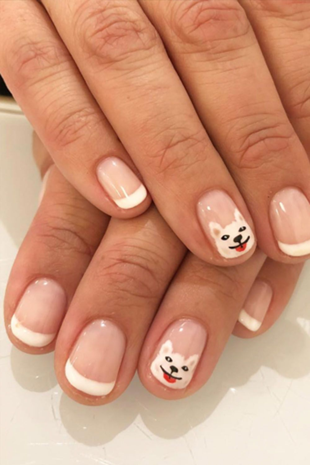 French Manicures Ideas - Nail Art Inspiration for Upgrading Classic ...