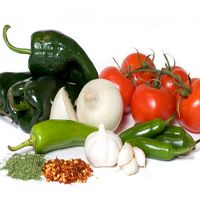 Assorted Veggies and Spices
