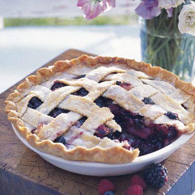 deep-dish bumbleberry pie