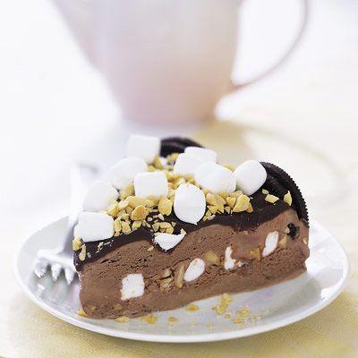 rocky road ice cream cake