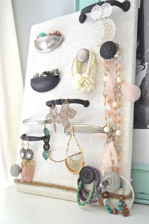 Diy Jewelry Organizers Organizing And Storage Ideas