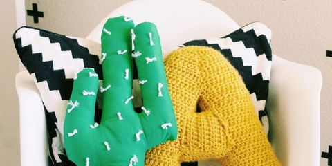 Green, Yellow, Pattern, Design, Pillow, Creative arts, Plastic, Throw pillow, Cushion,
