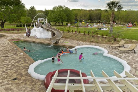 Fun, Swimming pool, Recreation, Water, Leisure, Aqua, Summer, Garden, Park, Water feature,