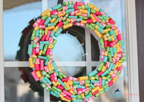 Pink, Colorfulness, Circle, Wreath, Arch,