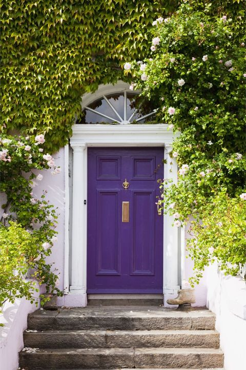 Colorful Front Doors Curb Appeal Ideas