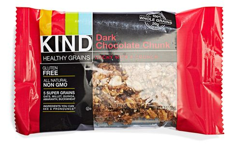 kind healthy grains bar in dark chocolate chunk