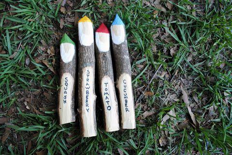 diy gnome garden markers