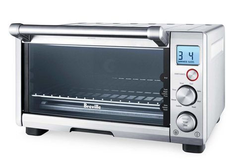 All a conventional oven has on this four-slice Breville is size
