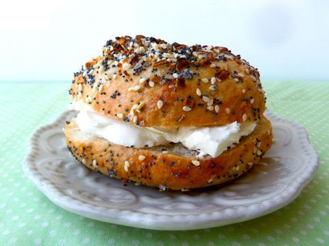 pizza dough everything bagel