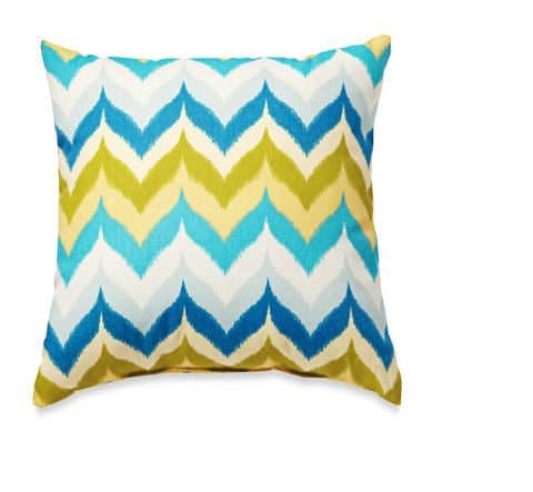 zig zag outdoor pillow