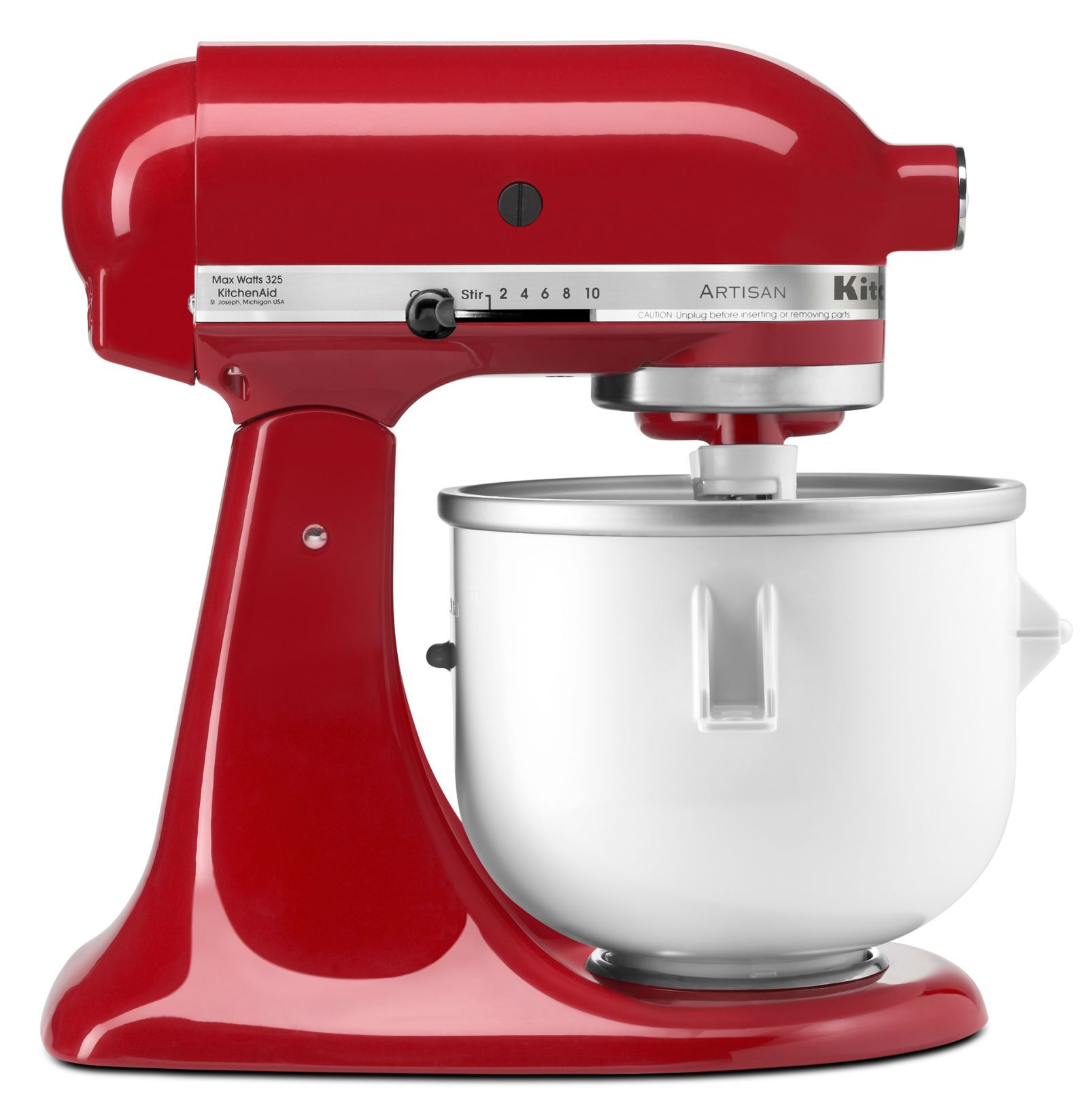 kitchenaid ice cream maker attachment h