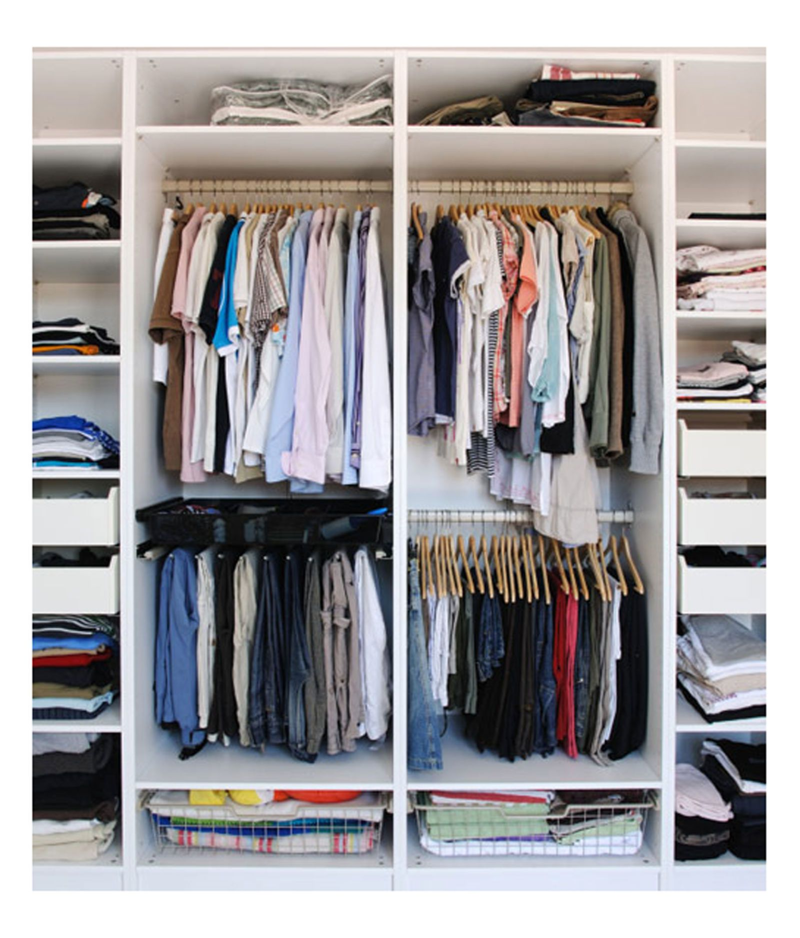 step closet organize wikihow to pictures wardrobe how with steps your my version