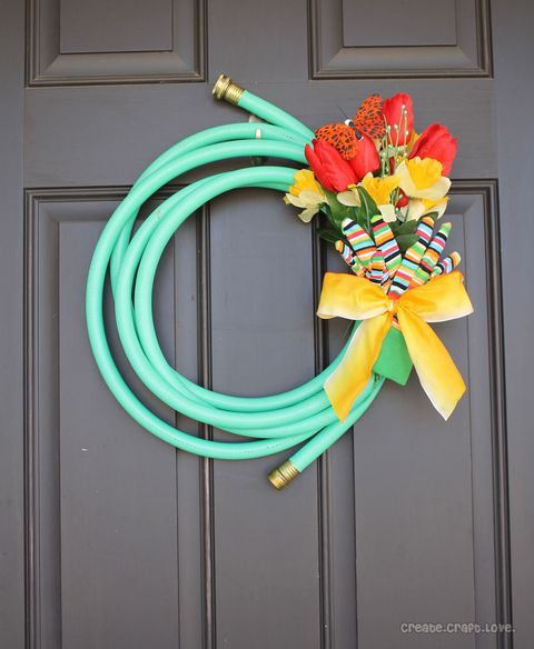 hose wreath