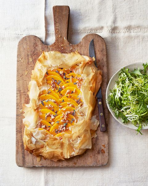 Butternut Squash-Sage Tart - Best Brunch Recipes