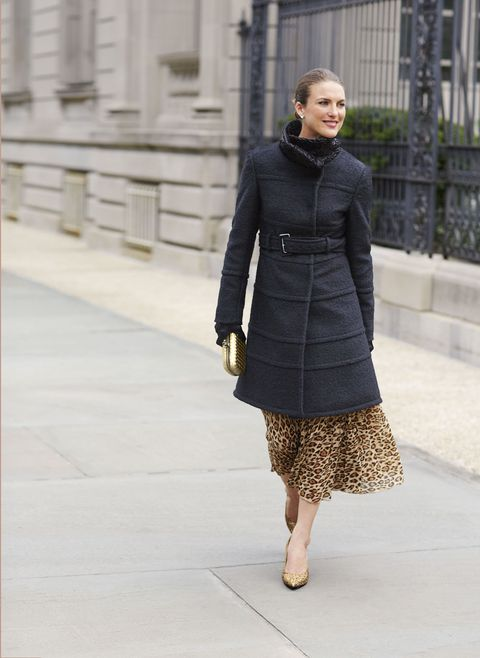 seamed coat
