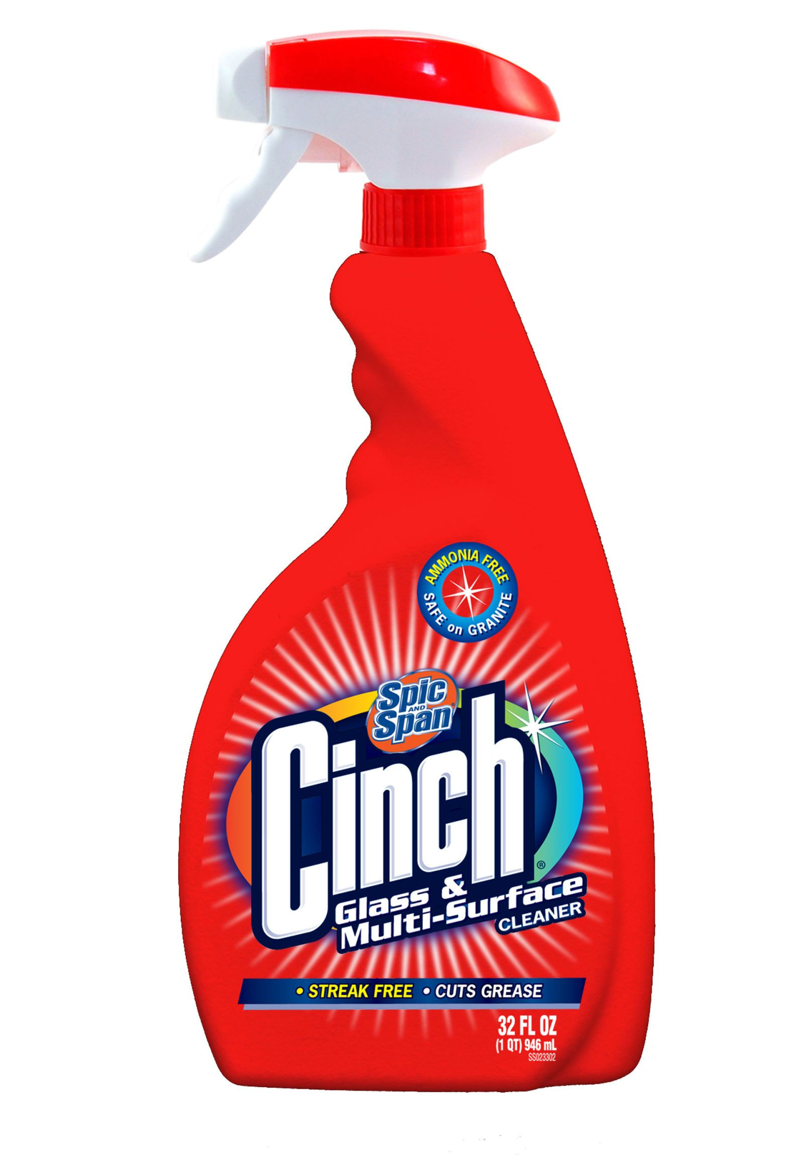 spic and span cinch glass and multi surface cleaner
