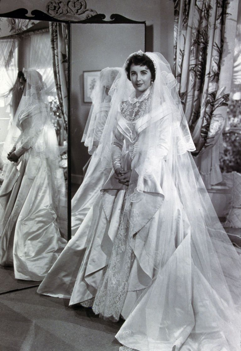 Famous wedding dresses wedding dresses through the years for Black wedding dresses meaning