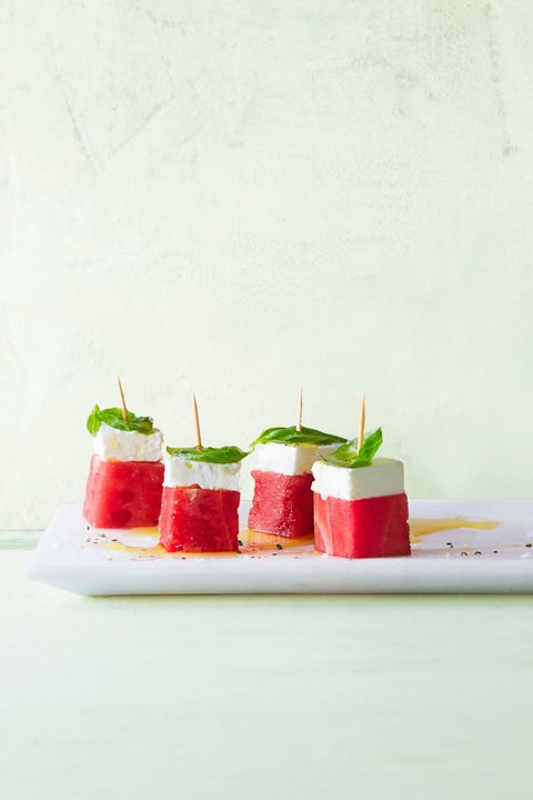 Feta-Watermelon Stacks
