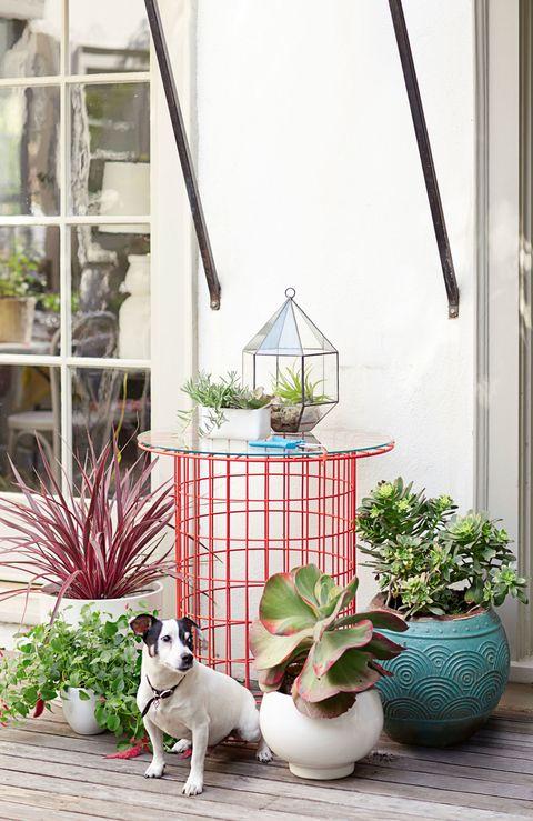 flea market garden table